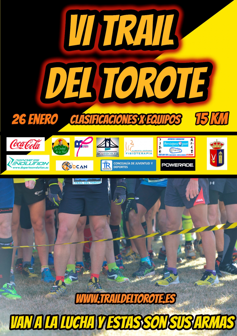 VI TRAIL DEL TOROTE  - Inscríbete