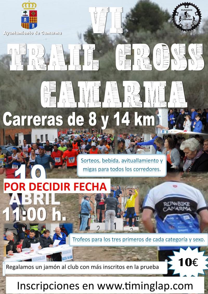 VI TRAIL CROSS  DE CAMARMA - Inscríbete
