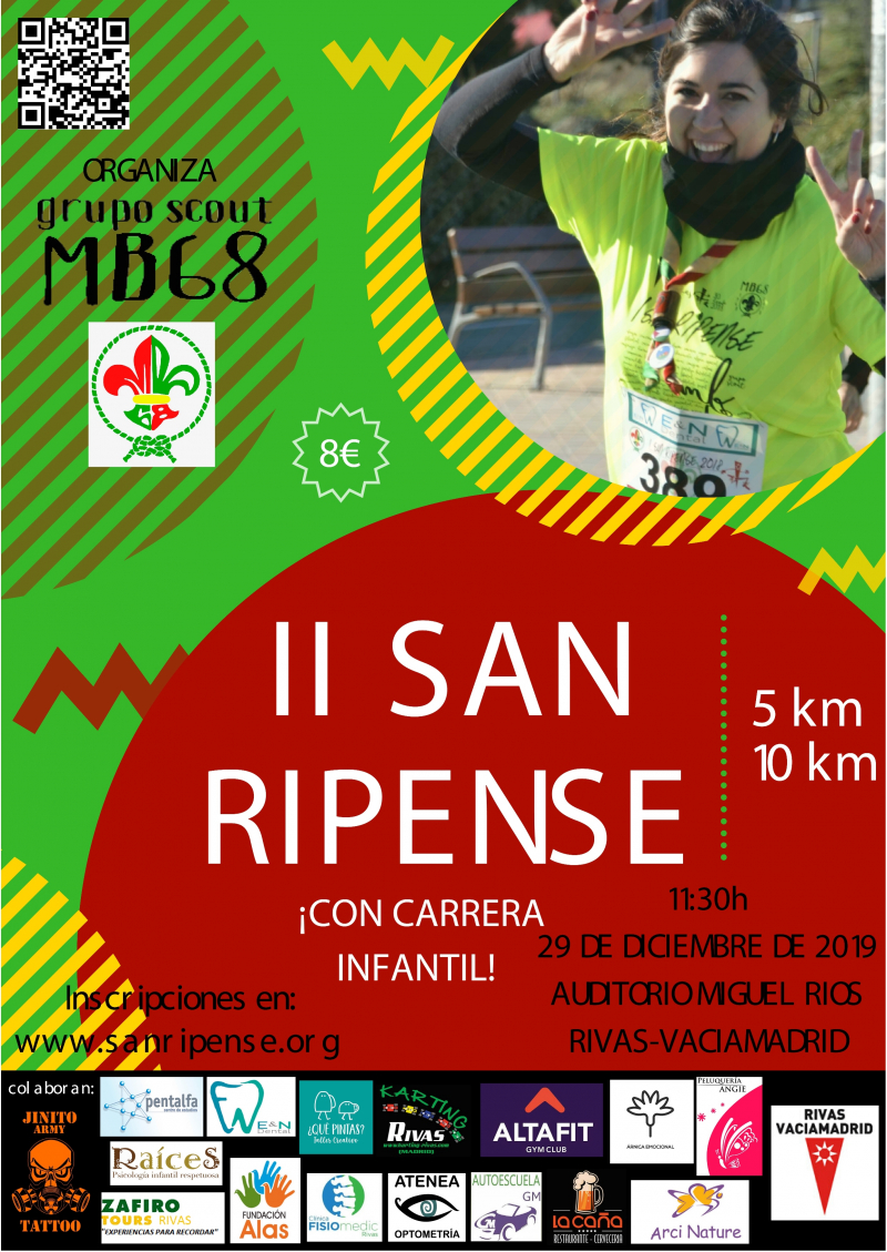 Cartel del evento II SAN RIPENSE
