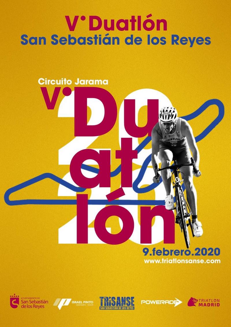 Cartel del evento V DUATLON SAN SEBASTIAN DE LOS REYES