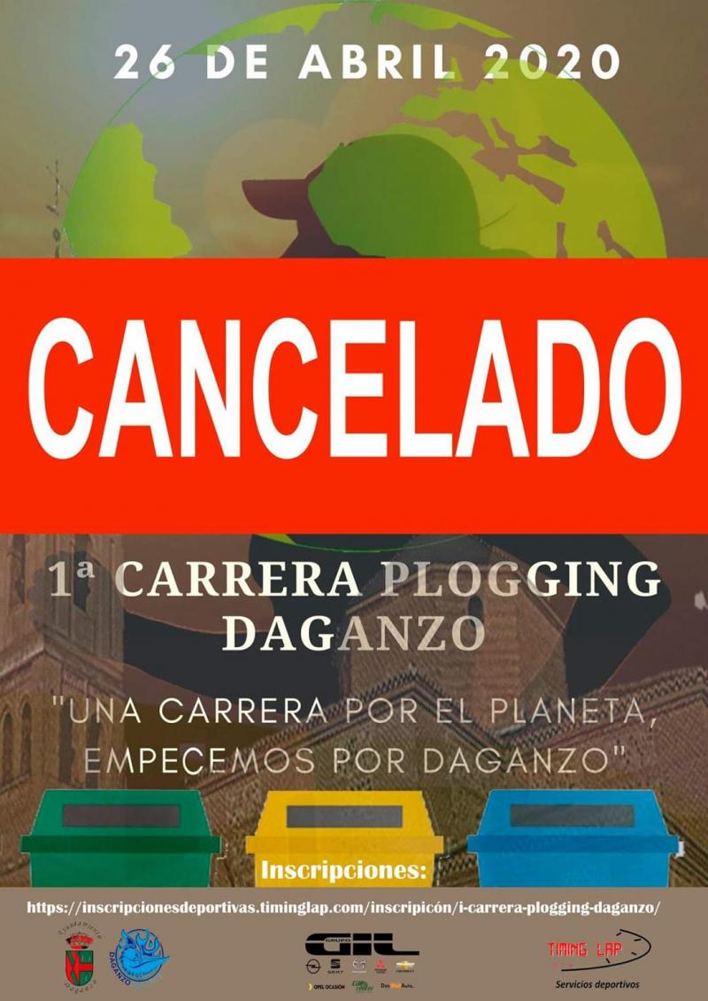 Cartel del evento I CARRERA PLOGGING DAGANZO