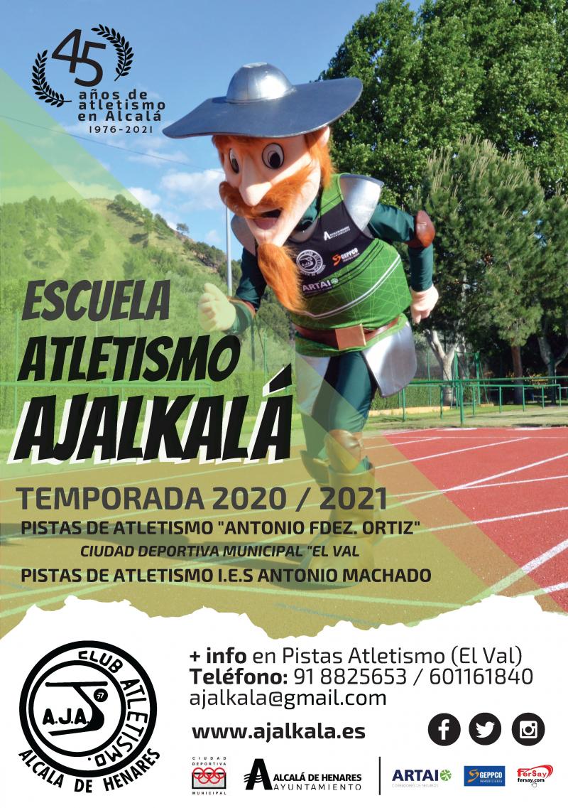Cartel del evento ESCUELA CLUB ATLETISMO AJALKALA