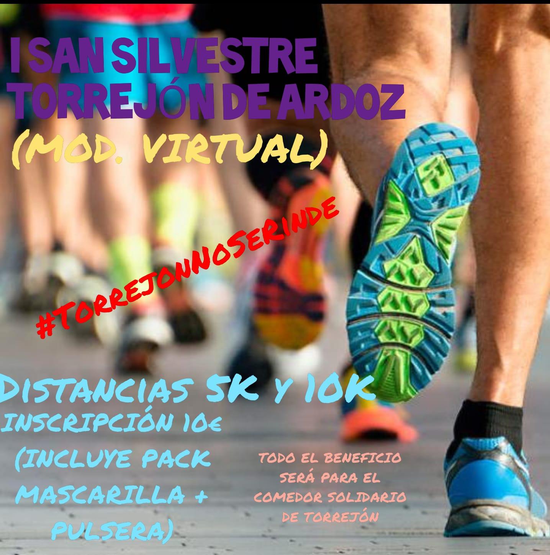 Cartel del evento I SAN SILVESTRE VIRTUAL TORREJON DE ARDOZ