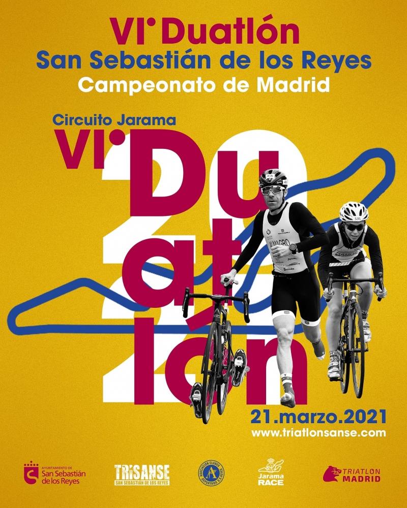 Cartel del evento VI DUATLON SAN SEBASTIAN DE LOS REYES