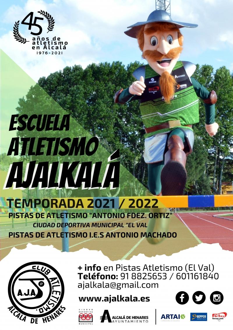 Cartel del evento ESCUELA CLUB ATLETISMO AJALKALA 21-22